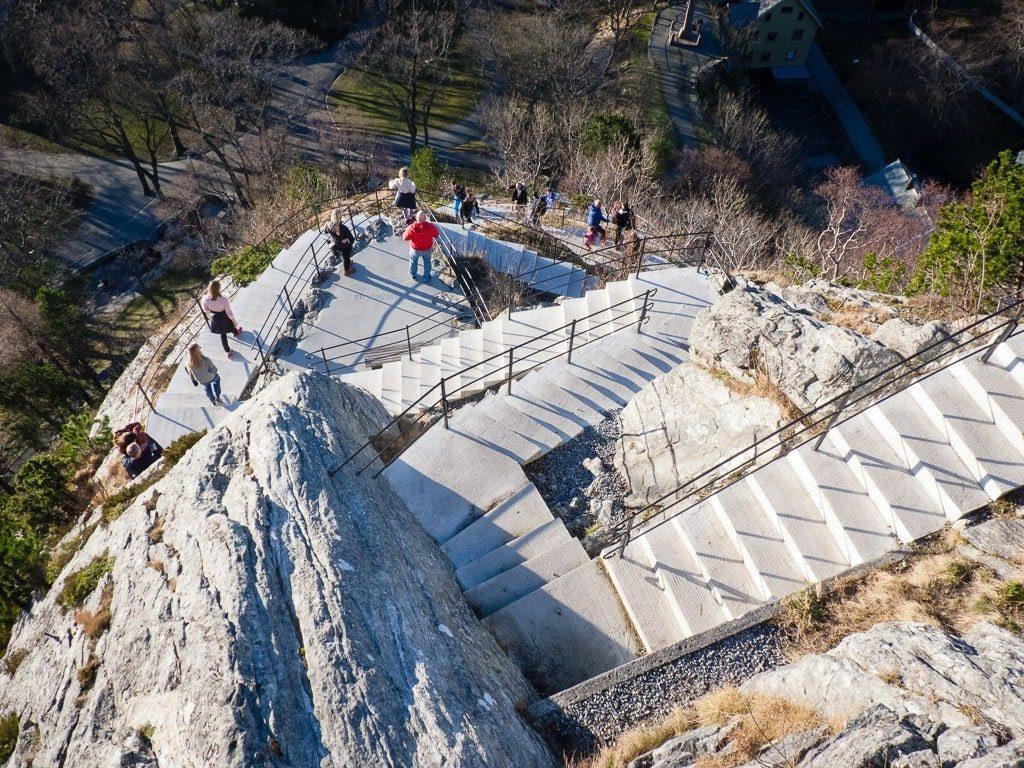 Aksla Ålesund Aufstieg Treppen Stufen
