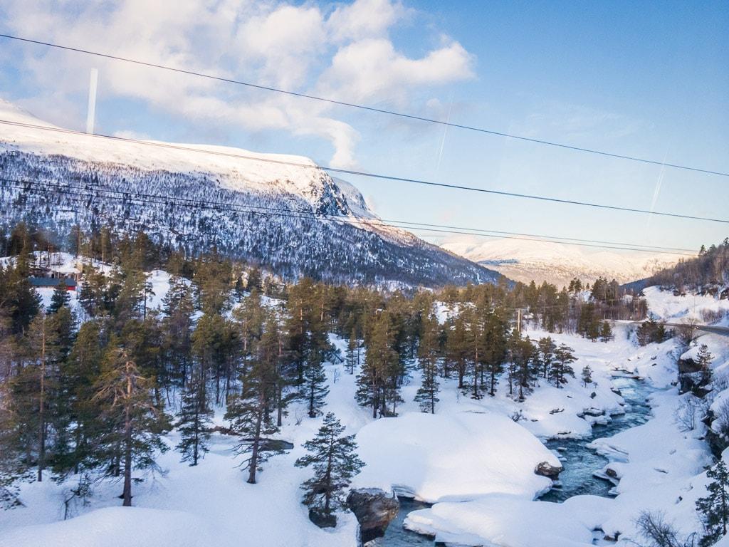 Raumabahn Raumabenen Norwegen Winter