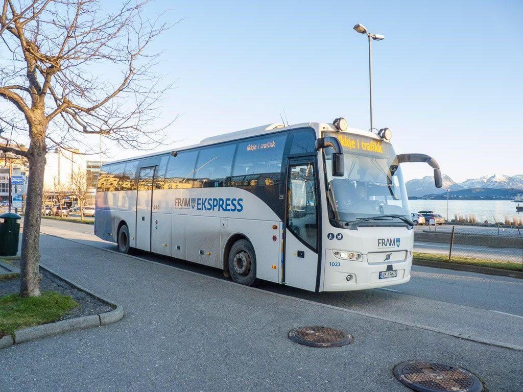 Ålesund Åndalsnes Togbuss
