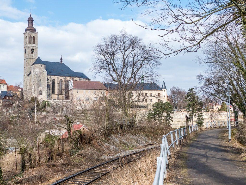 Kutna Hora Bahnstrecke St. Jakob Kirche