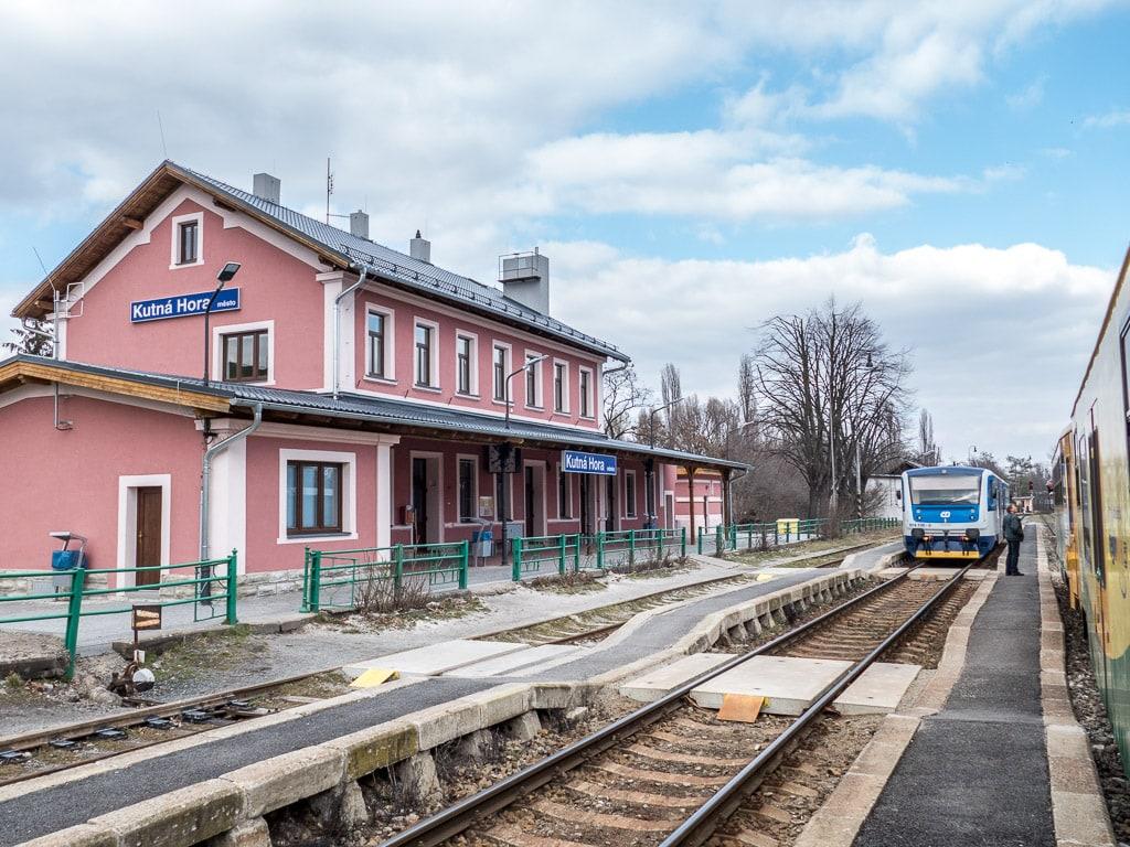 Kutná Hora město Regionova Bahnhof