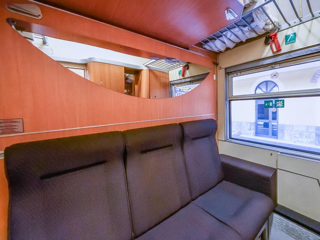 Abteil Intercity Notte Schlafwagen