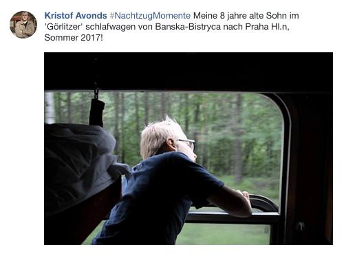 Nachtzug Momente Kristof Schlafwagen Slowakei