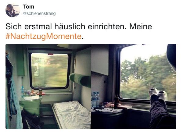 Nachtzug Momente Tom Schlafwagen Slowakei