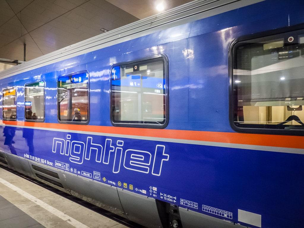 ÖBB Nightjet Wien Rom
