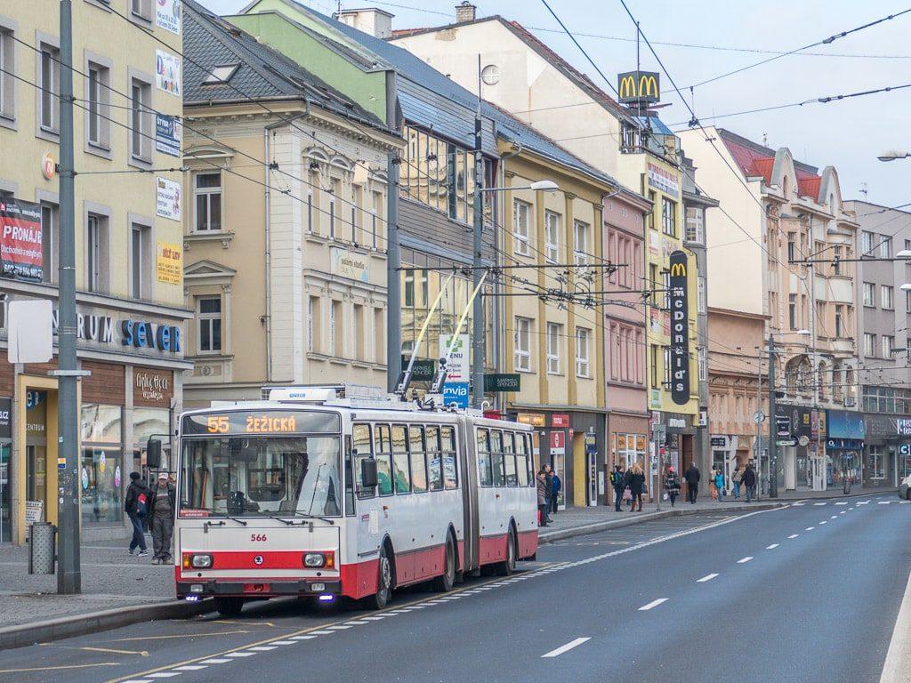 Trolley Bus Obus Usti nad Labem
