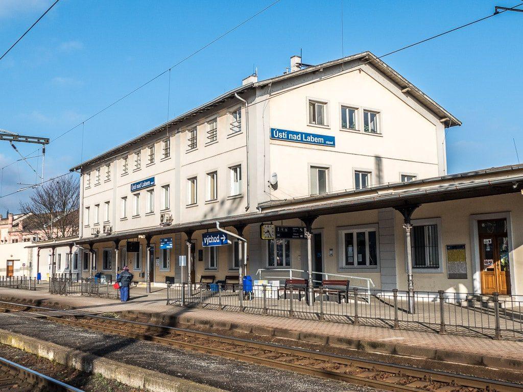 Bahnhof Ústí nad Labem západ