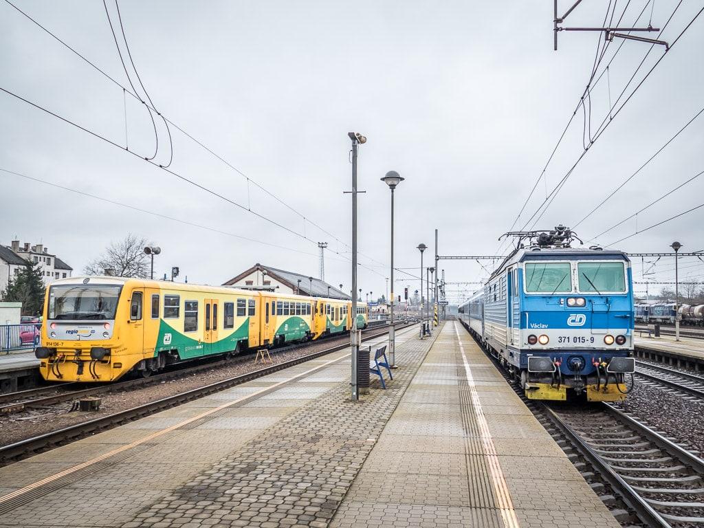 Regionova Rychlik Bahnhof Chocen