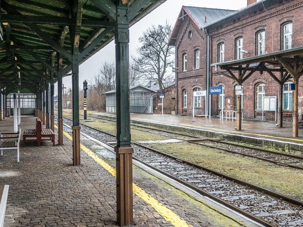Bahnhof Glucholazy Polen
