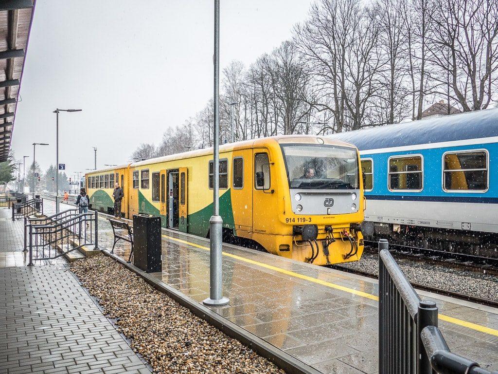 Bahnhof Jesenik Regionova