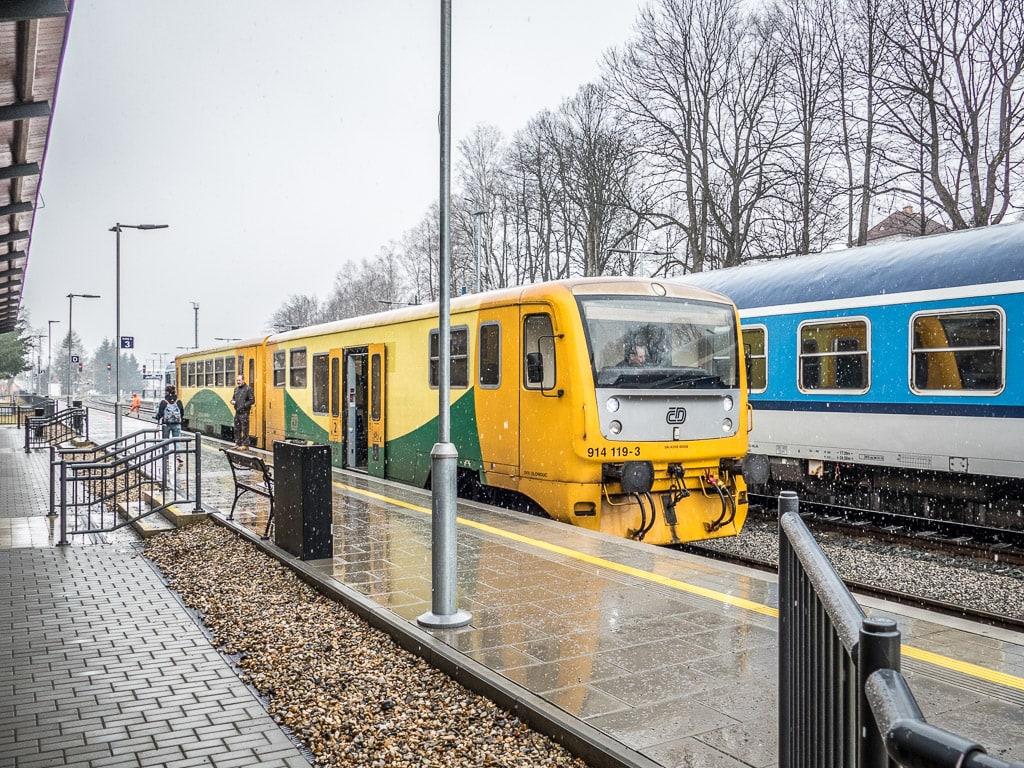 Regionova Bahnhof Jeseník