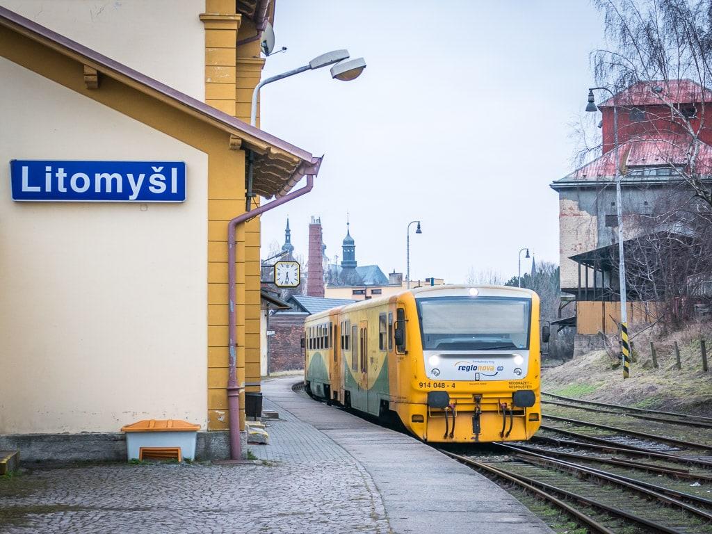 Bahnhof Litomysl Regionova