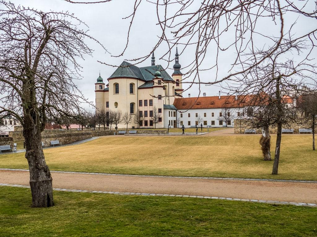 Klostergärten Litomyšl