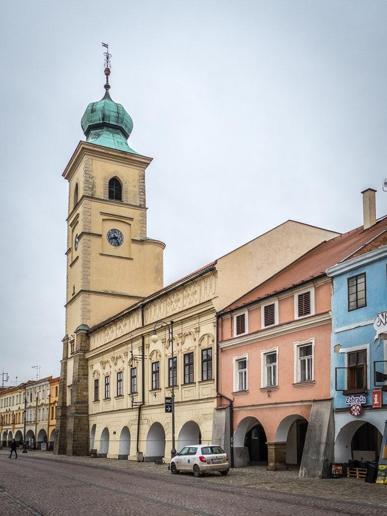 Rathaus Turm Litomyšl