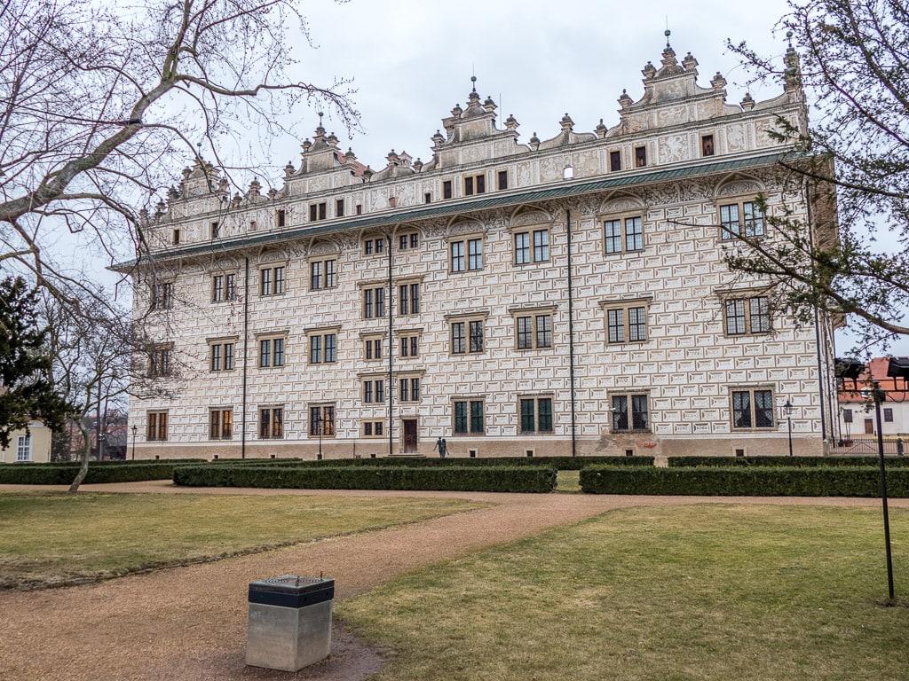 Schloss Litomyšl Außen Fassade