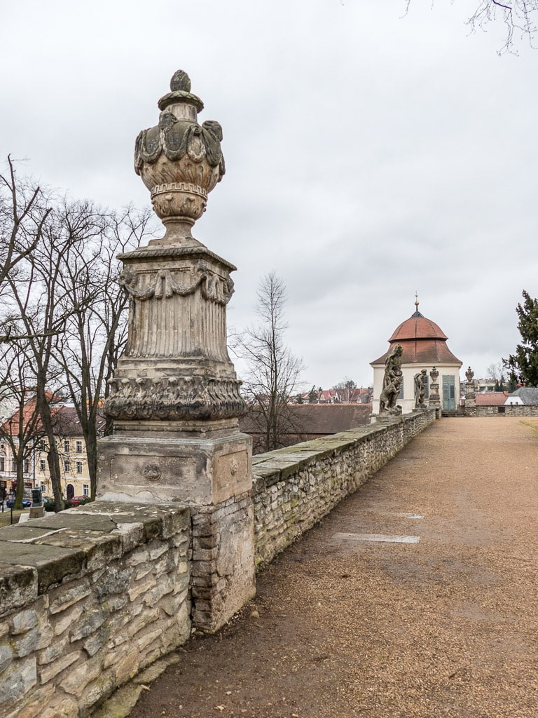 Schloss Litomyšl Terrasse