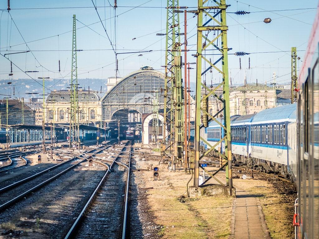 Budapest Keleti Einfahrt