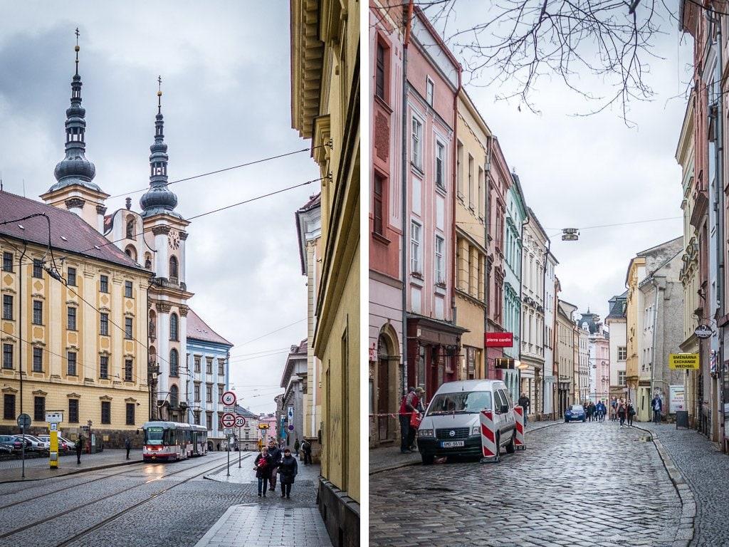 Straßenszenen Olomouc Innenstadt