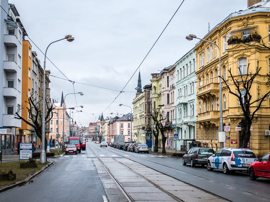 Olomouc Straße