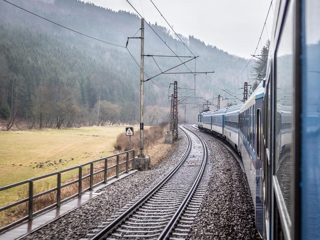 Schnellzug Rx Tschechien