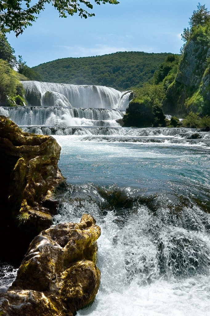Una Fluss Bihac Nationalpart