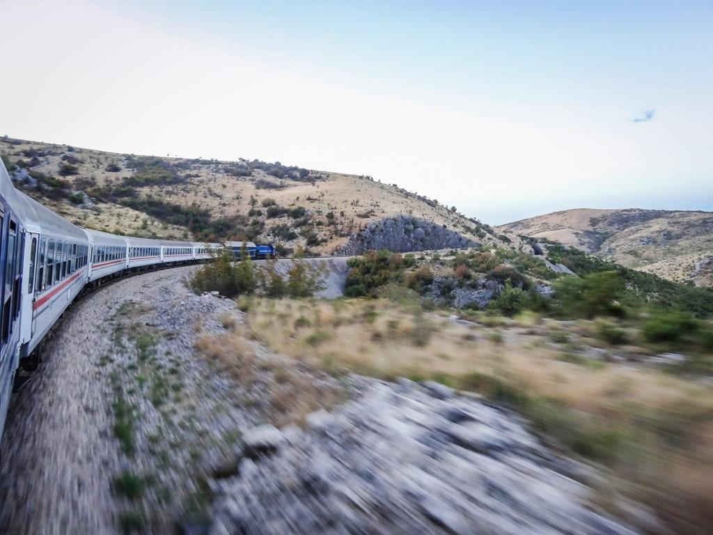 Dinarisches Gebirge Kroatien Zug Split