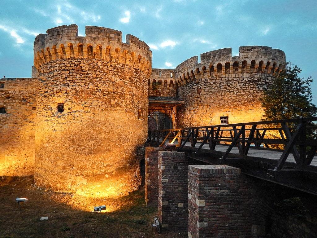 Festung Belgrad Nacht
