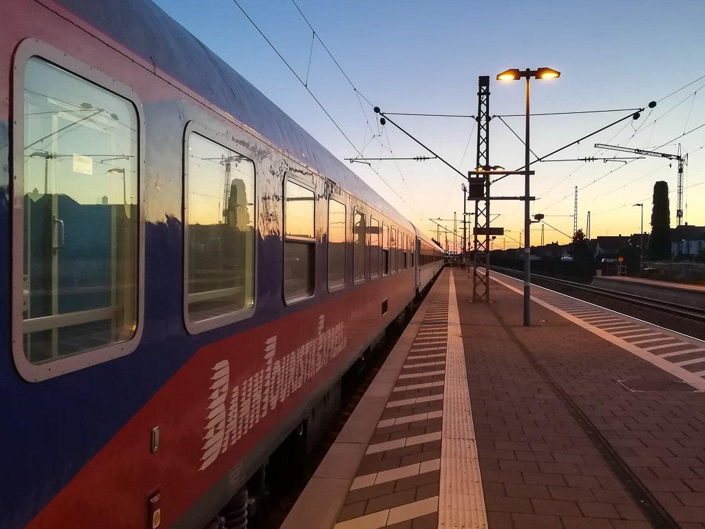BTE Autozug Nachtzug Hamburg Lörrach FlixTrain