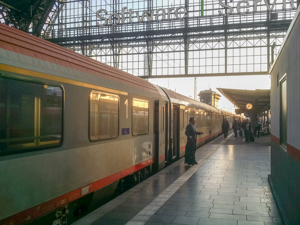 EC 113 Frankfurt Hauptbahnhof