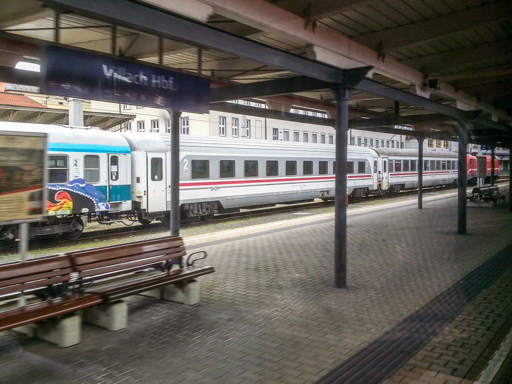 Villach Hauotbahnhof EuroCity Mimara