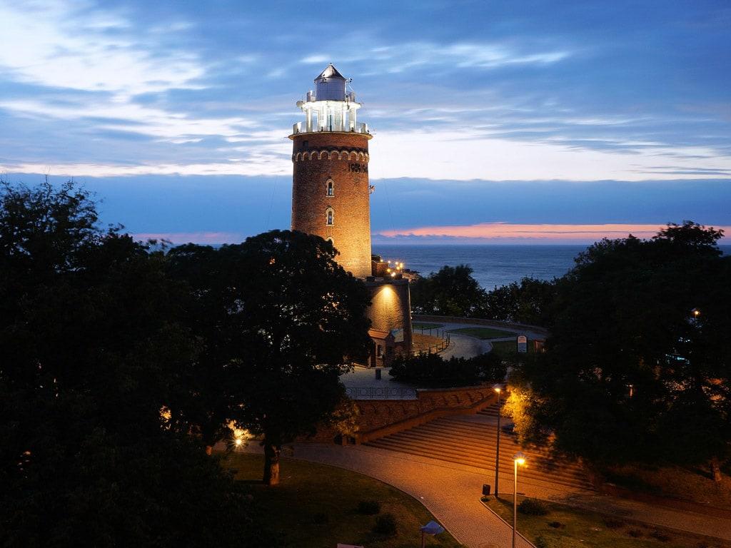Kołobrzeg Kolberg Polen Leuchtturm