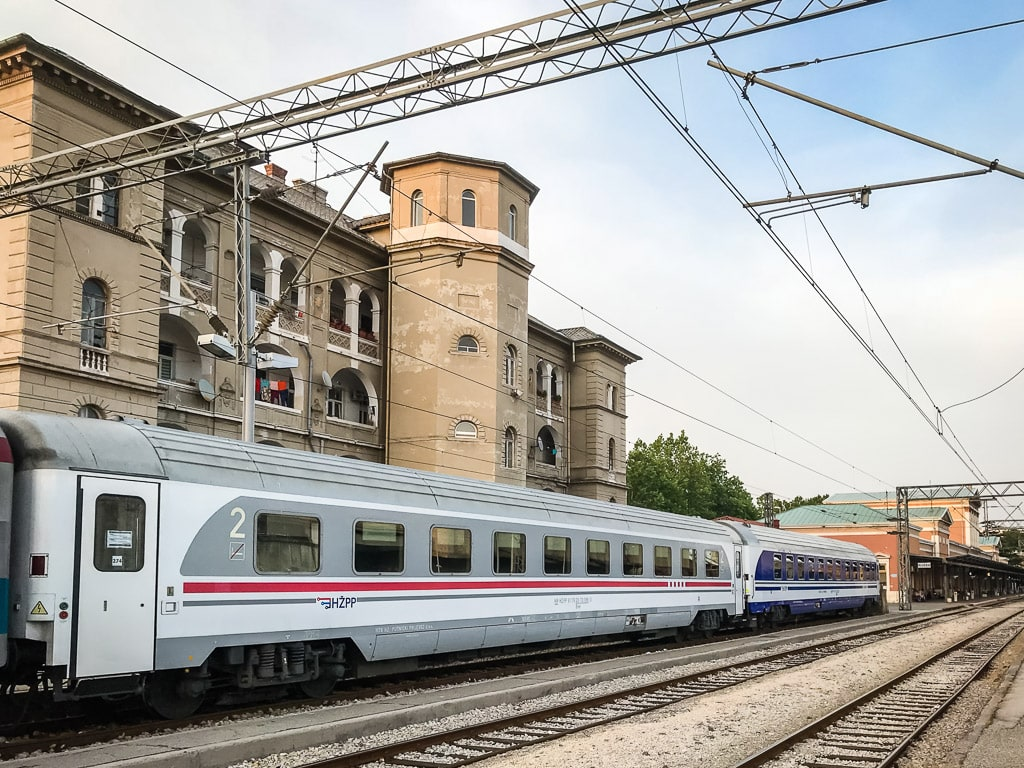 Kurswagen Nachtzug München Rijeka Kroatien
