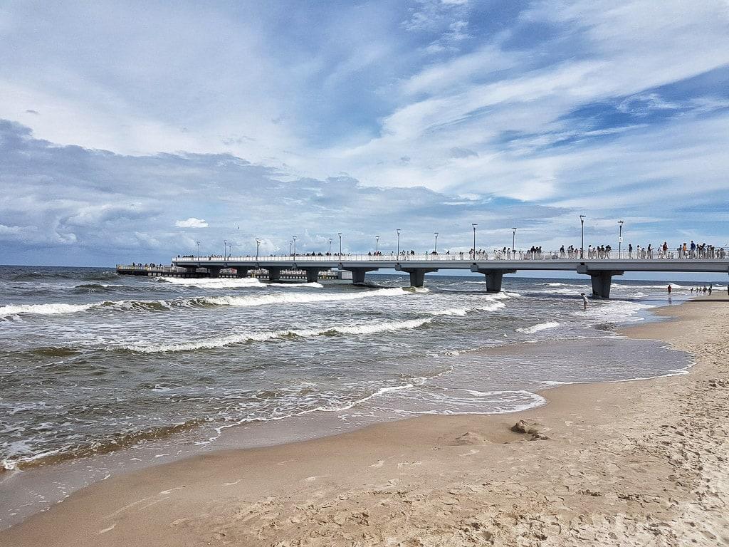 Polen Ostsee Seebrücke Mole
