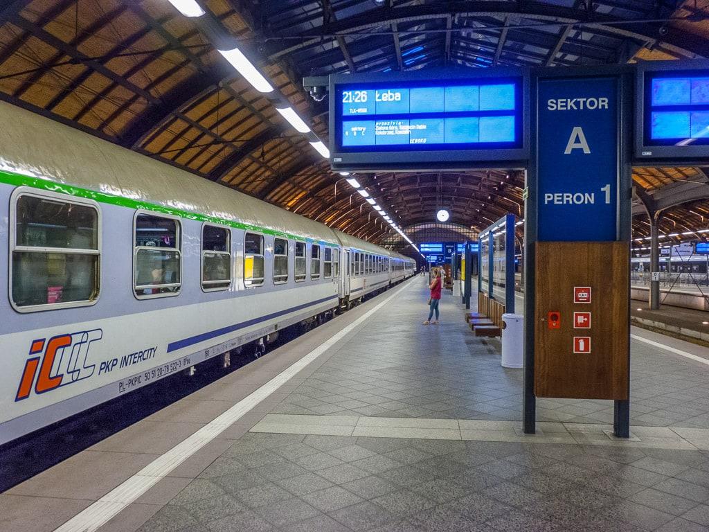 Nachtzug Łebsko Wroclaw