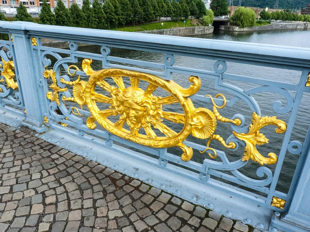 Brücke Maas Lüttich