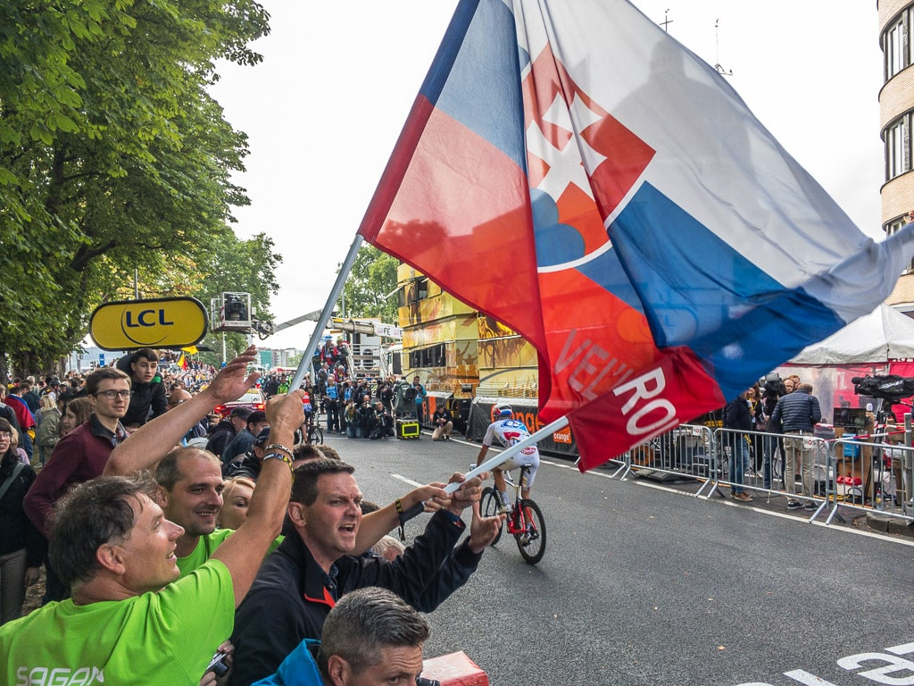 Fans Tour de France 2017 Lüttich