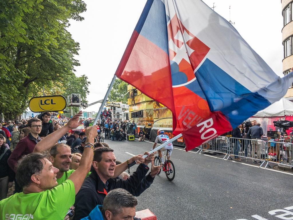 Fans Tour de France 2017 Lüttich