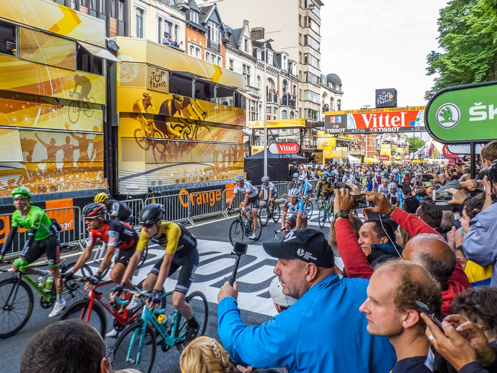 Zielsprint Tour de France 2017 Lüttich