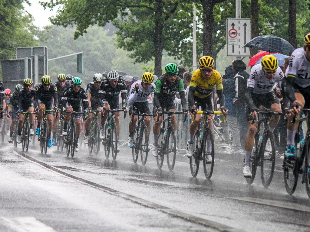 Hauptfeld Tour de France 2017 Mönchengladbach