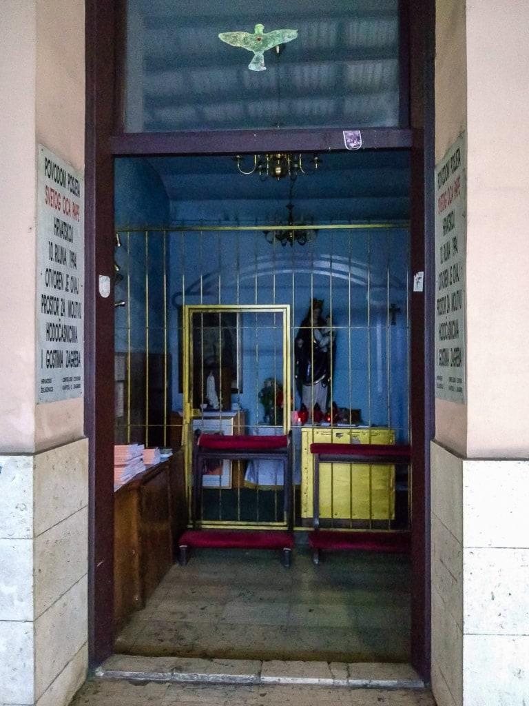 Andachtsraum Zagreb Glavni kolodvor