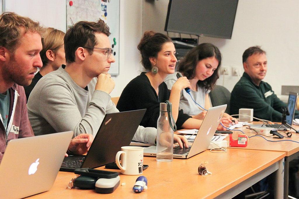 Gemeinsames Treffen von Back on Track und Stay Grounded im Oktober 2018 in Wien