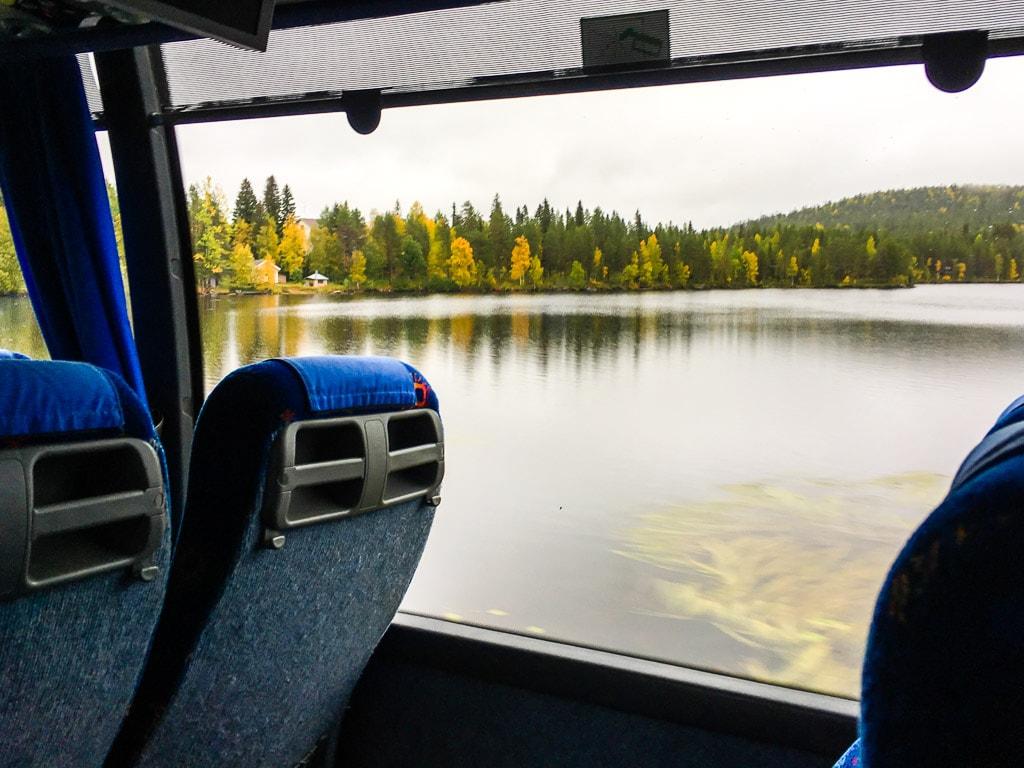 Bus Lappland Rovaniemi und Kemijärvi
