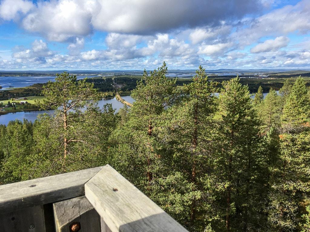 Aussichtsturm Kotavaara Kemijärvi Isokylä