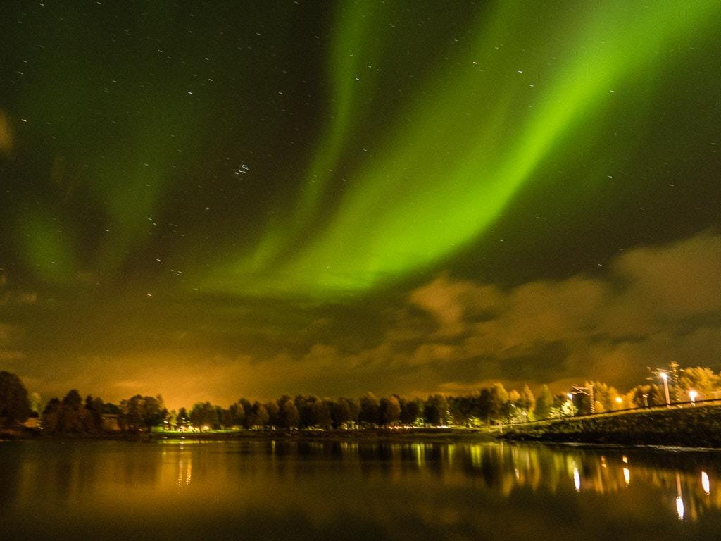 Polarlichter über Kemijärvi