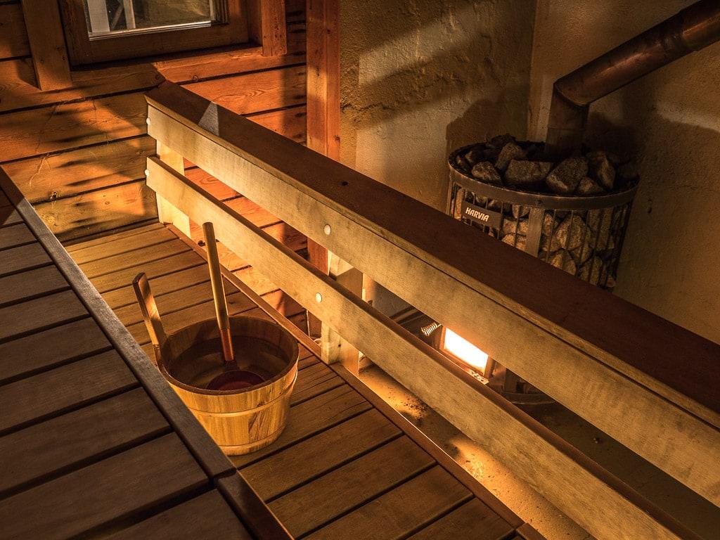 Sauna Hotel Uitonniemi Kemijärvi Lappland