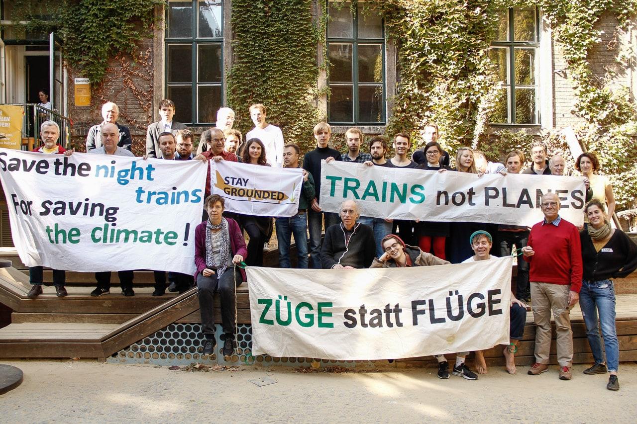 Nachtzug Konferenz Back on Track Wien