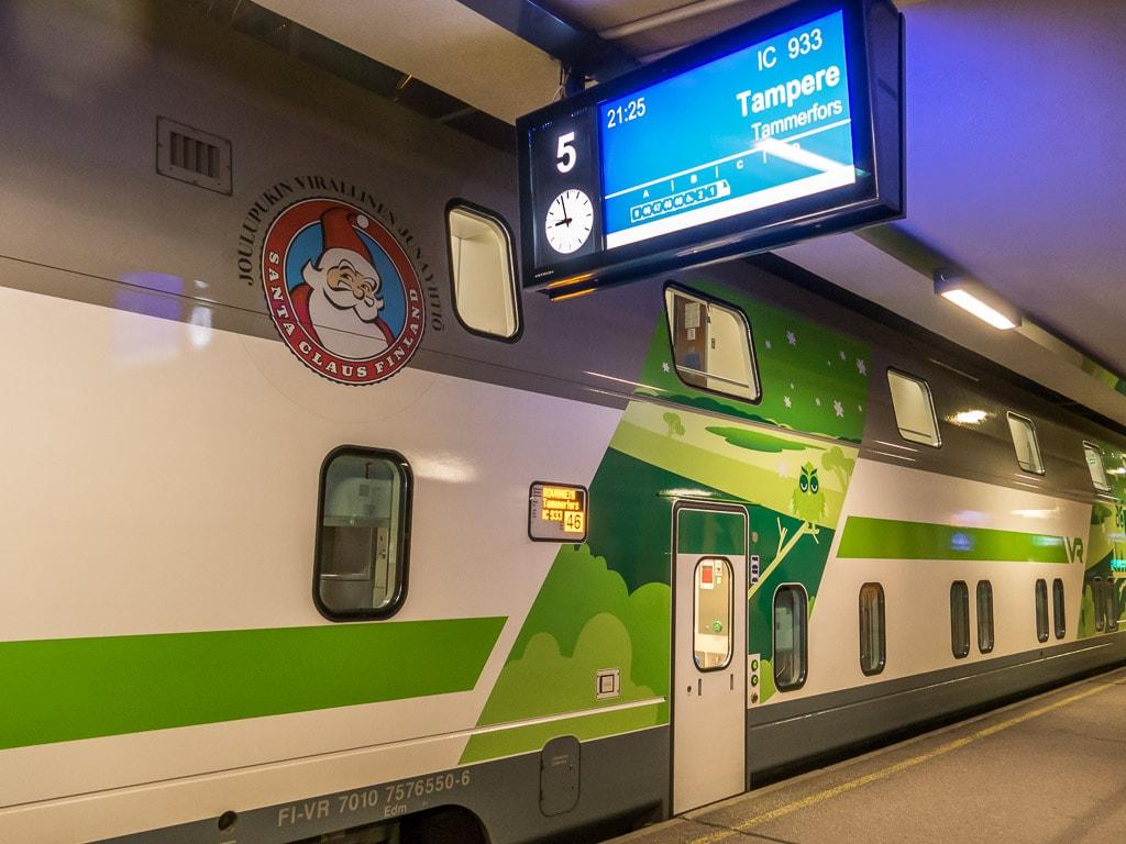 Schlafwagen Finnland Turku