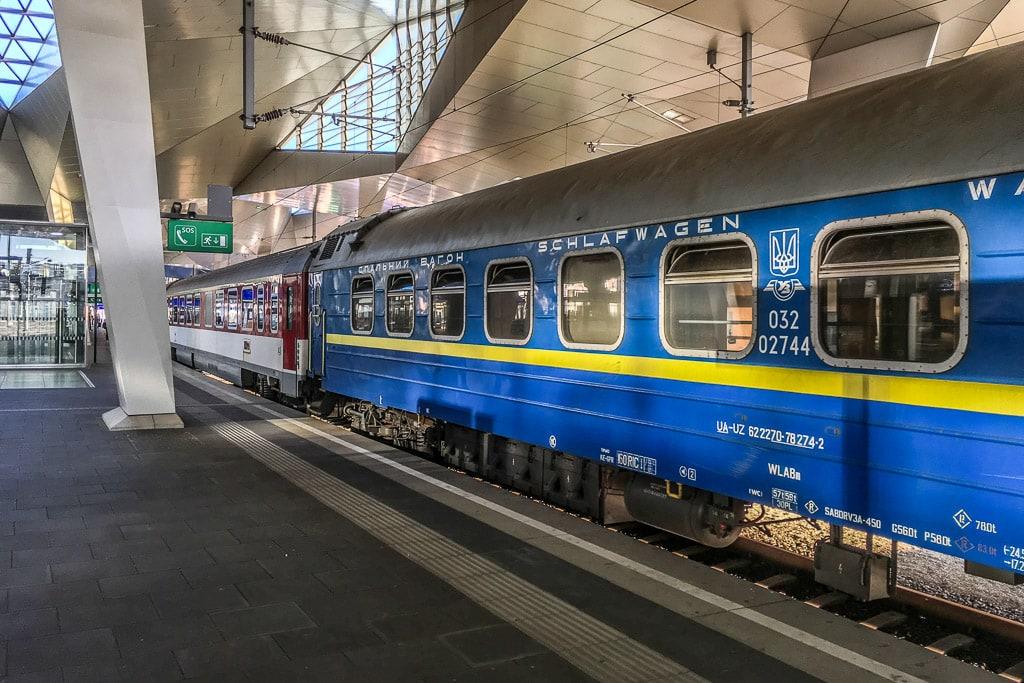 Nachtzug Wien Lwiw Kiew Schlafwagen