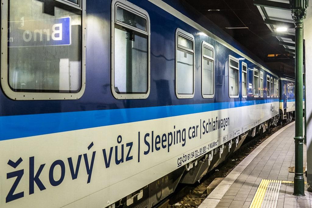 Nachtzug Tschechien Schlafwagen