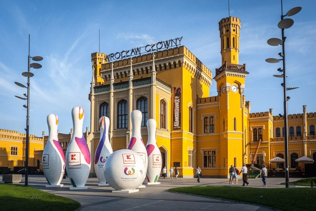 Interrail Ticket kaufen Bahnhof Wroclaw Glowny